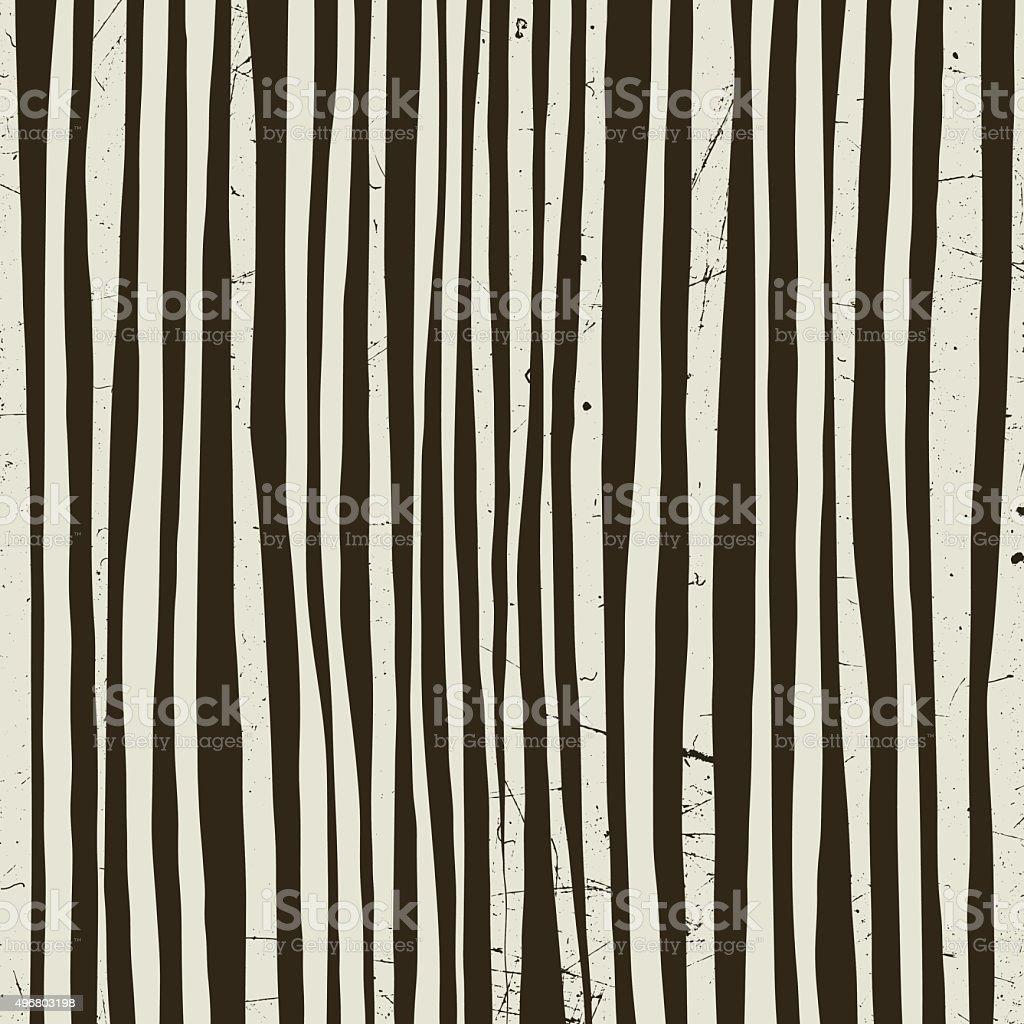 Black and white vector stripes. vector art illustration