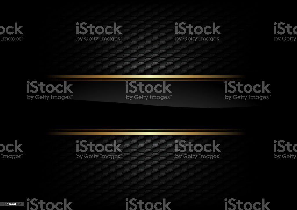 black background vector art illustration