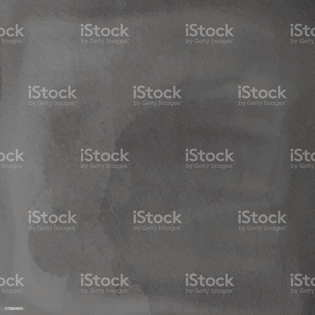 Black blank chalkboard, blackboard vector art illustration