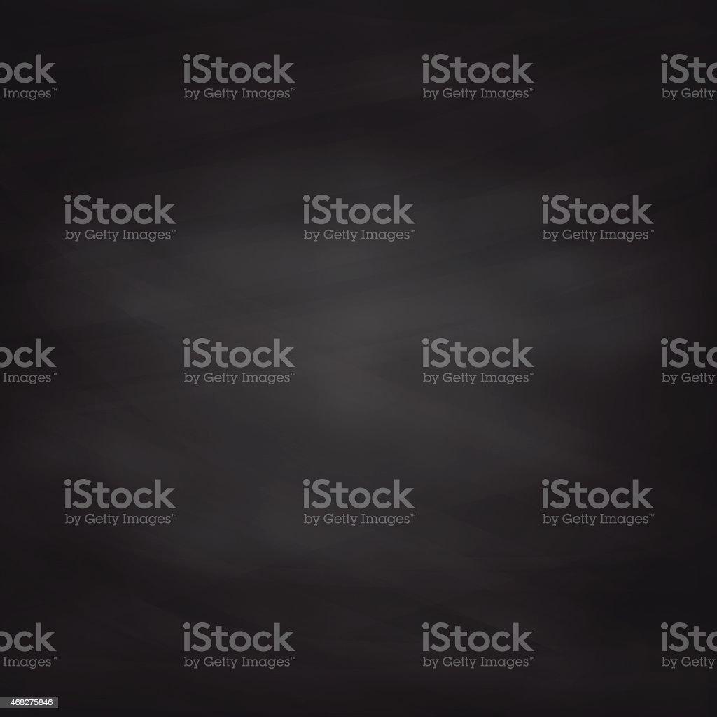 Black Chalkboard Texture. Vector Background. vector art illustration