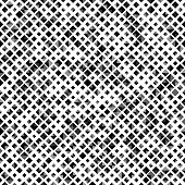 Black color seamless pattern with rhombuses, abstract design geometrical vector