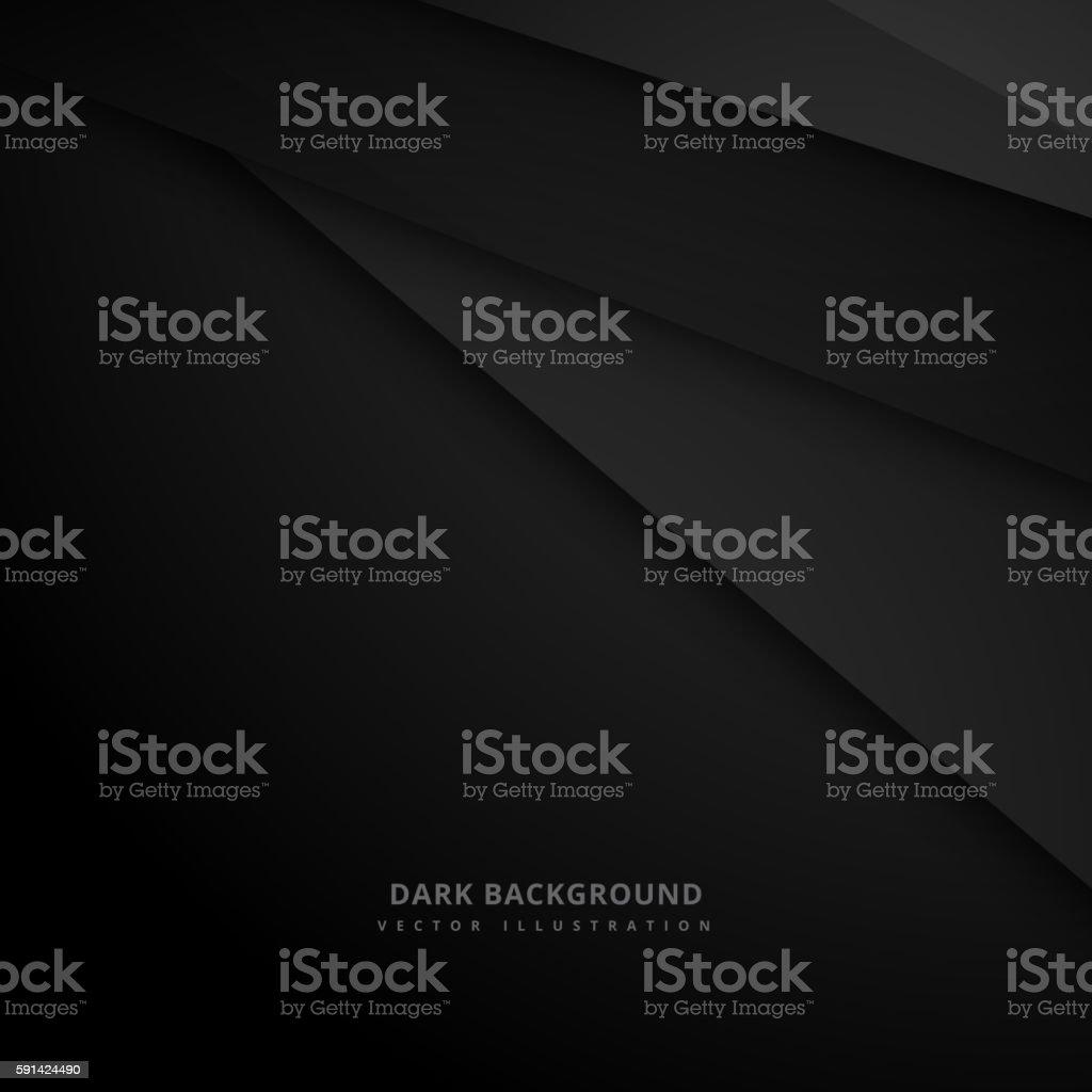 black dark background vector art illustration