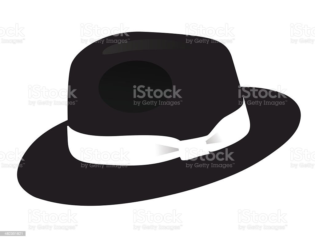 fedora clip art  vector images   illustrations istock gangster clipart gif gangster girl clipart