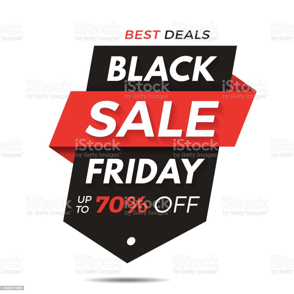 Black Friday Label Price Tag Sale Banner Badge Template Sticker – Sale Tag Template