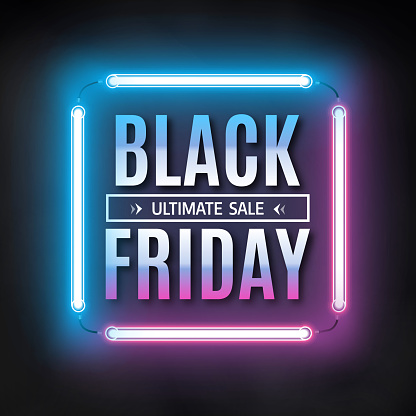 Black friday clip art vector images illustrations istock for Black friday bed frames sales