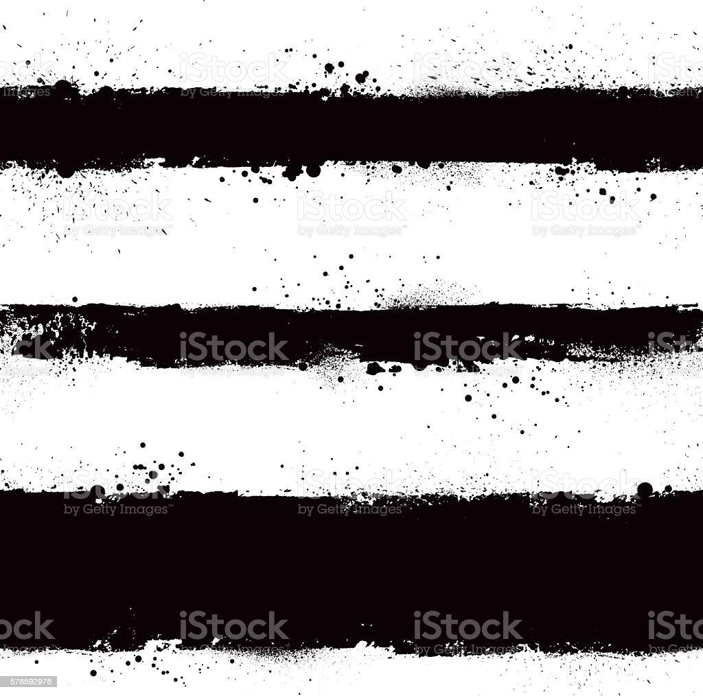 black grunge vector strokes vector art illustration