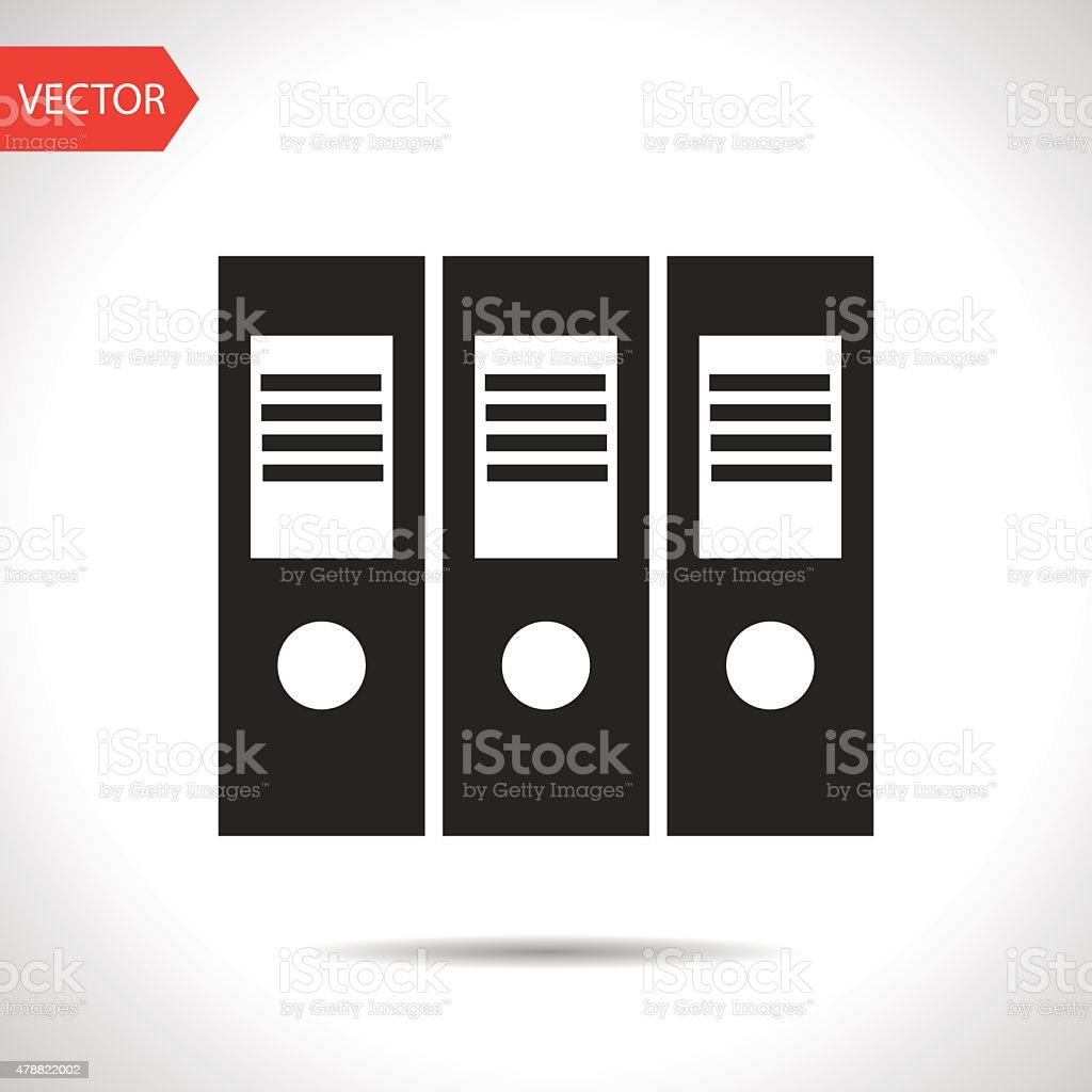 black icon vector art illustration