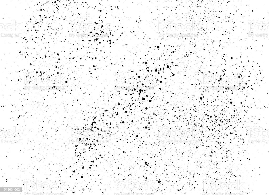 Black paint stains overlay vector texture vector art illustration
