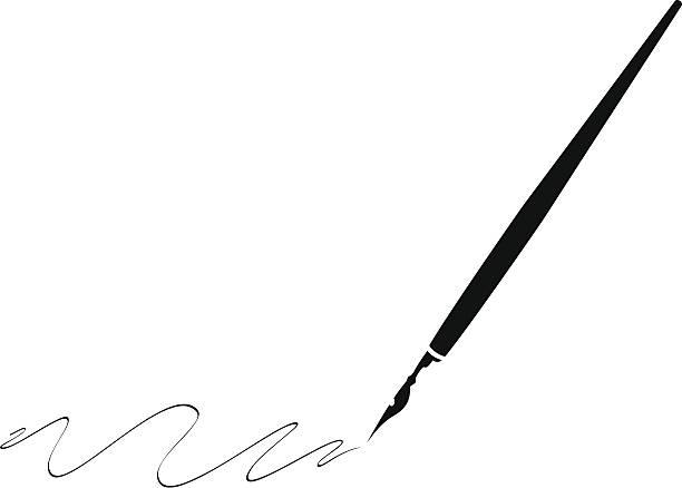 Calligraphy Pen Clipart Clipartfest
