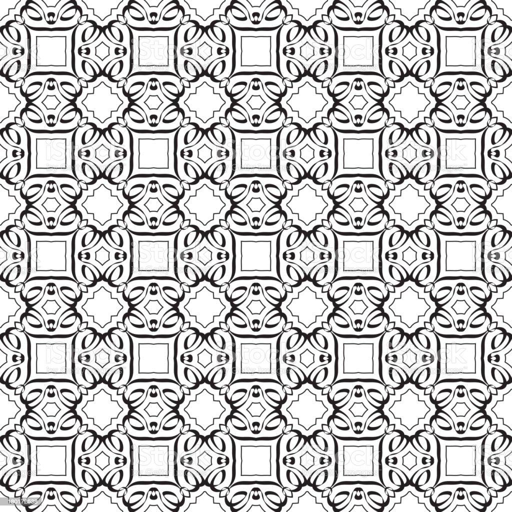 Black ribbon pattern royalty-free stock vector art