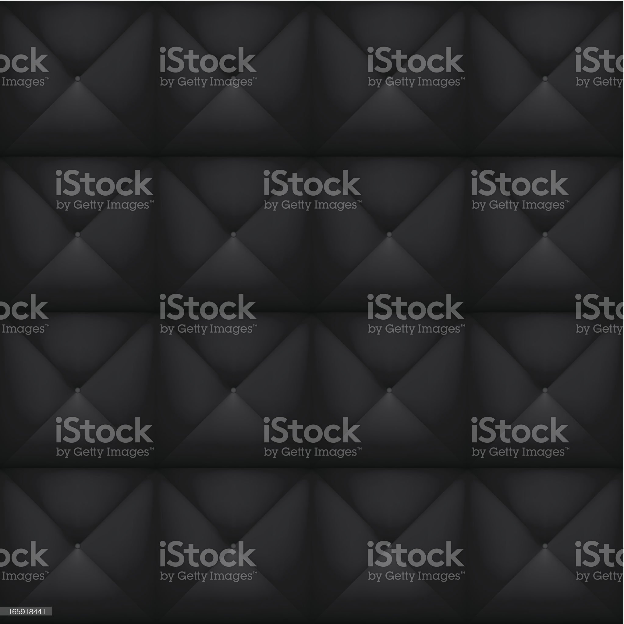Black seamless padded background royalty-free stock vector art
