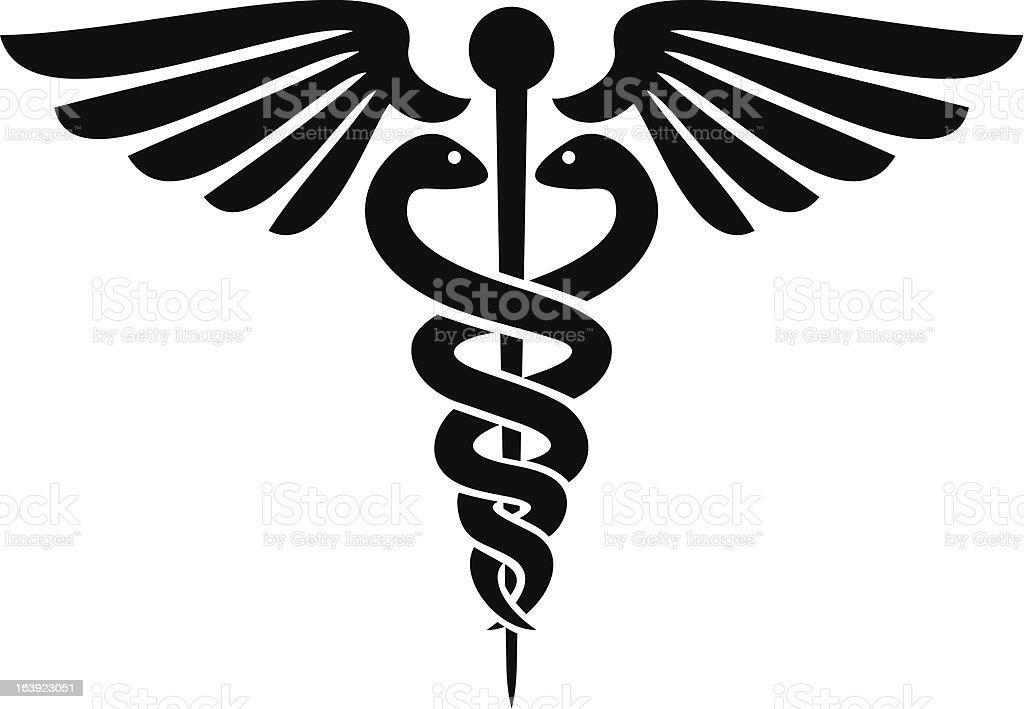 medical symbol clip art  vector images   illustrations Medical Insignia Medical Staff Clip Art