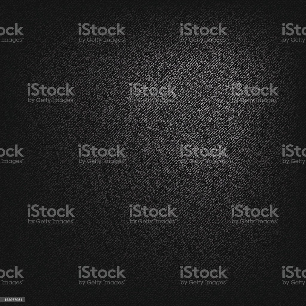 Black static canvas textured background vector art illustration