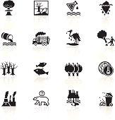 Black Symbols - Environmental Damage