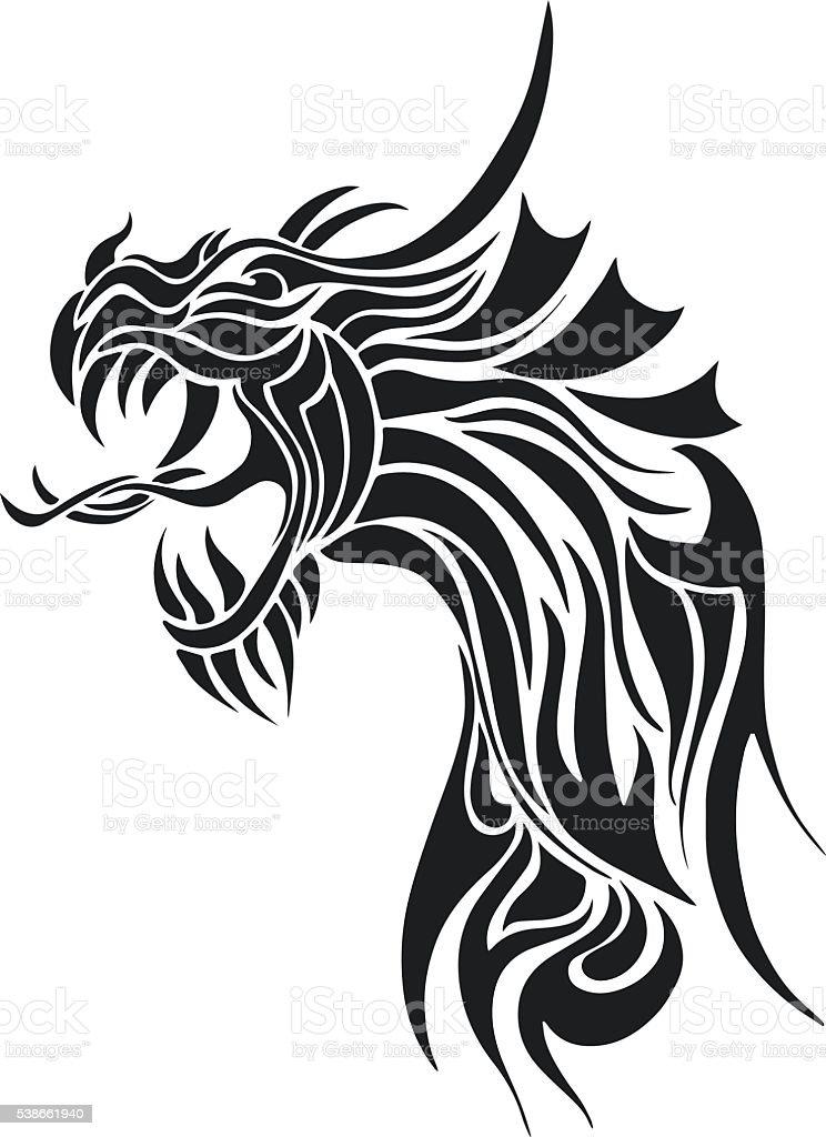Desenho animado do homem em luta com o dragao ? Vetor de Stock ...