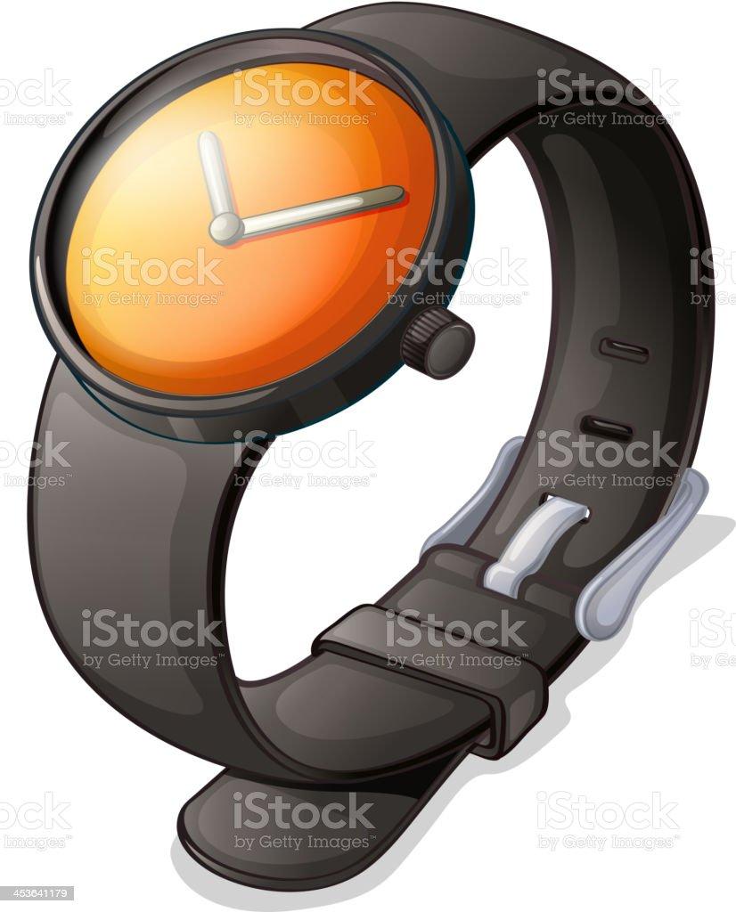 Black watch royalty-free stock vector art