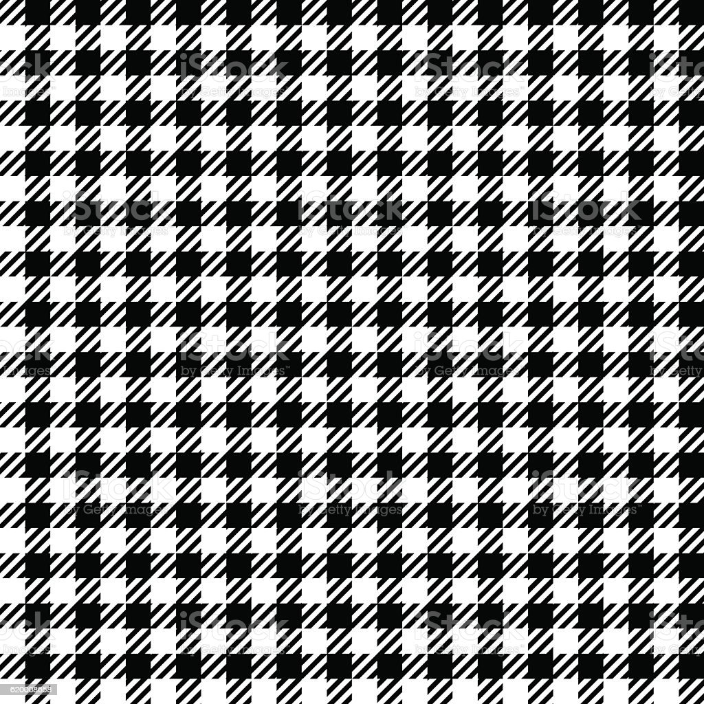 Seamless black and white checkered texture stock images image - Black White Check Plaid Seamless Fabric Texture Royalty Free Stock Vector Art
