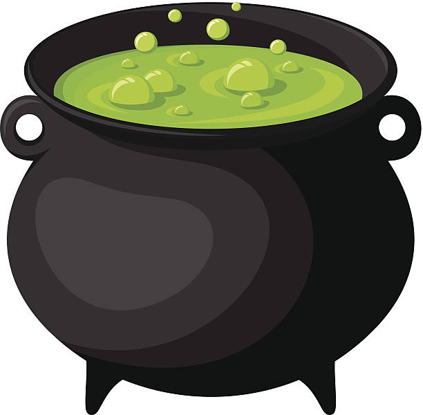 Cauldron Clip Art, Vector Images & Illustrations - iStock