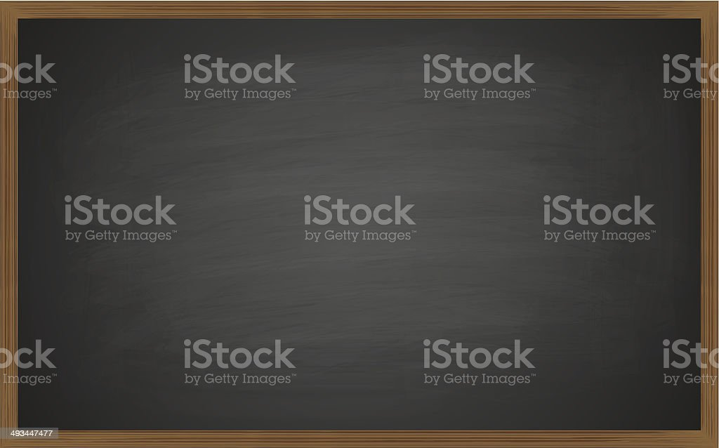 blackboard vector art illustration
