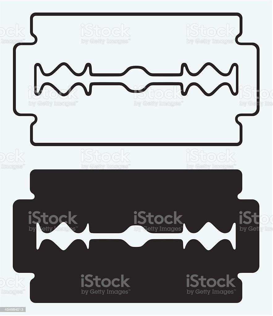 Blade razor vector art illustration