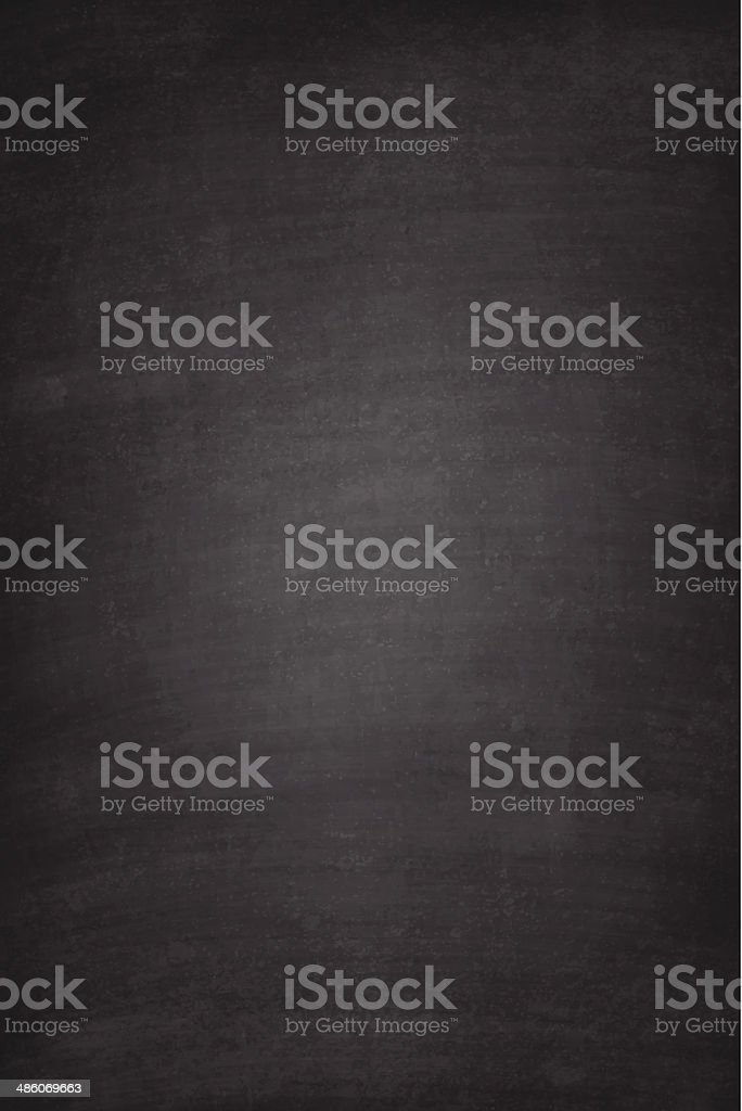 Blank blackboard background vector art illustration