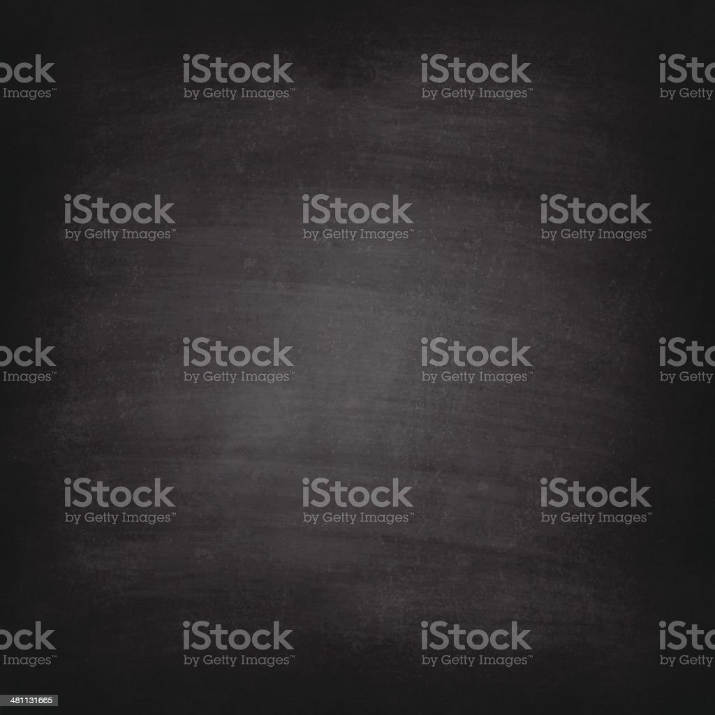 Blank blackboard texture with chalk traces vector art illustration