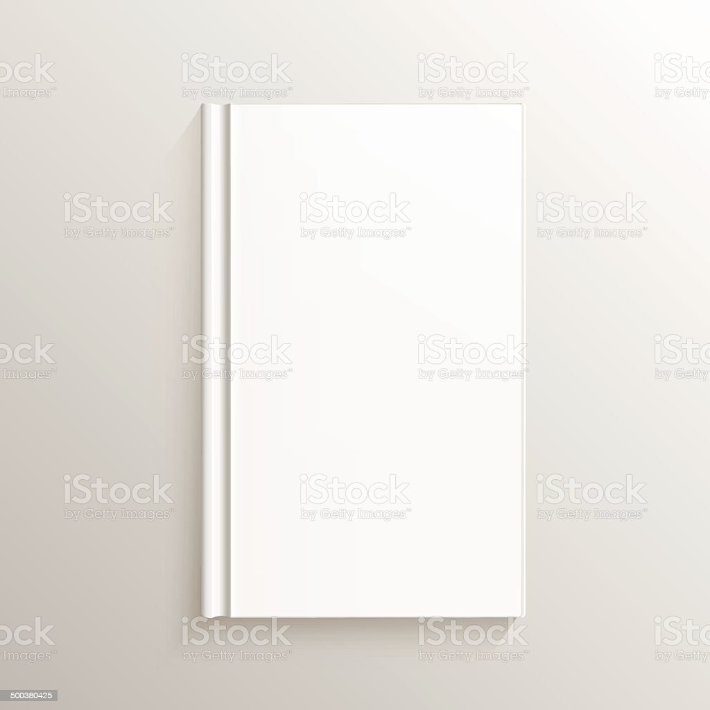 Blank Book Cover royalty-free stock vector art