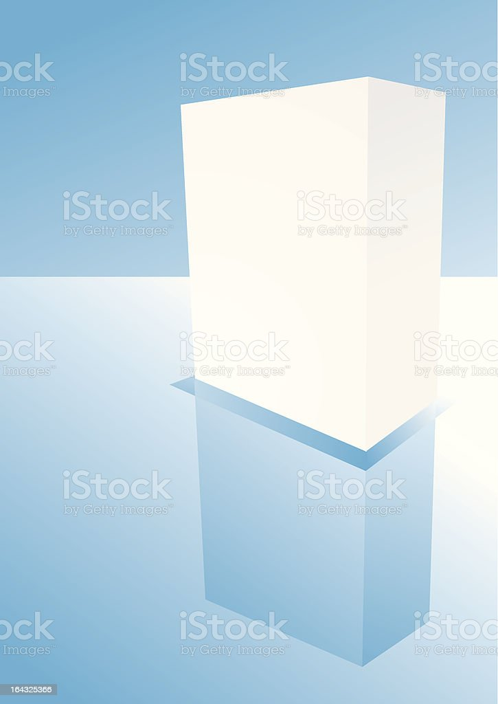 blank box royalty-free stock vector art
