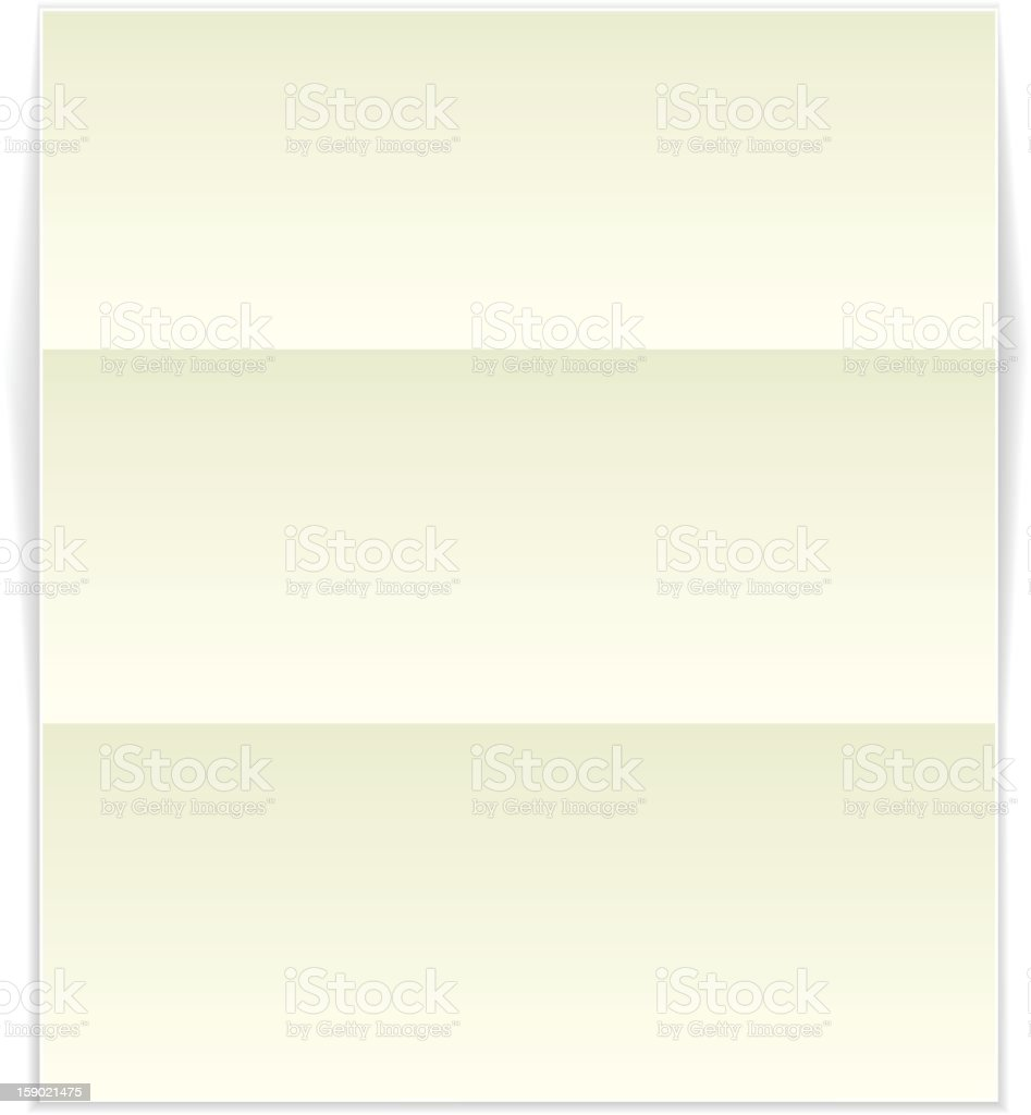 Blank Paper royalty-free stock vector art
