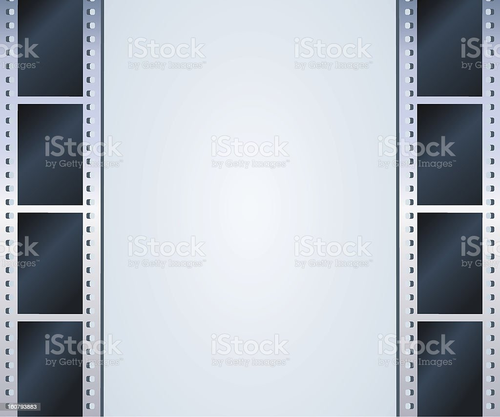 Blank photo, video template royalty-free stock vector art