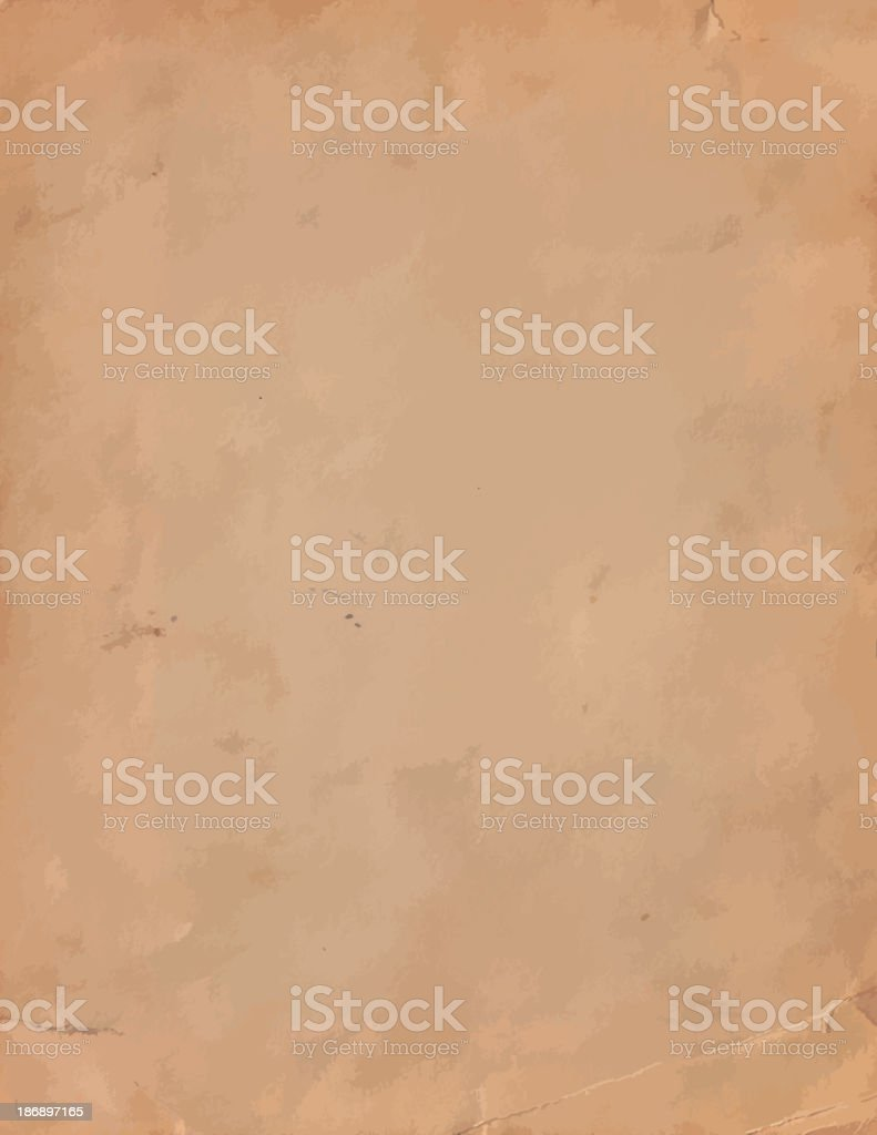 Blank royalty free vector Background Paper vector art illustration