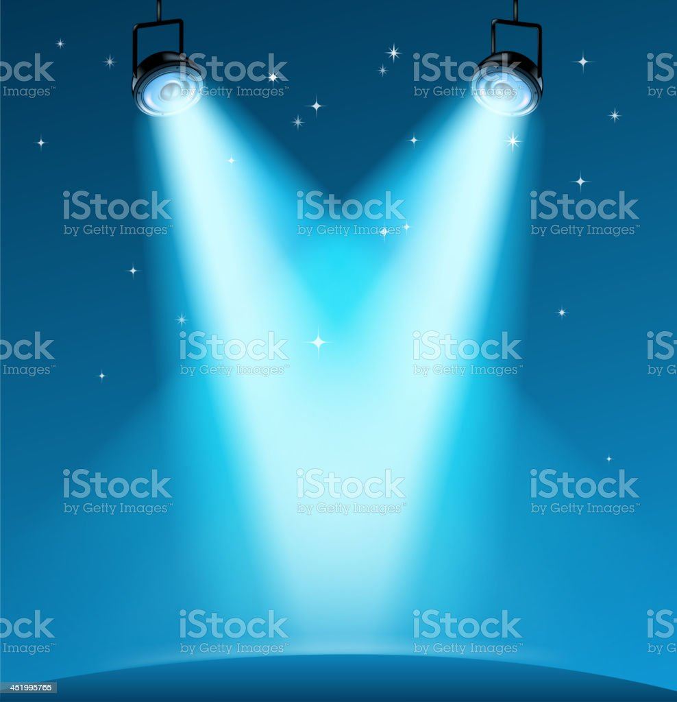 blank stage royalty-free stock vector art