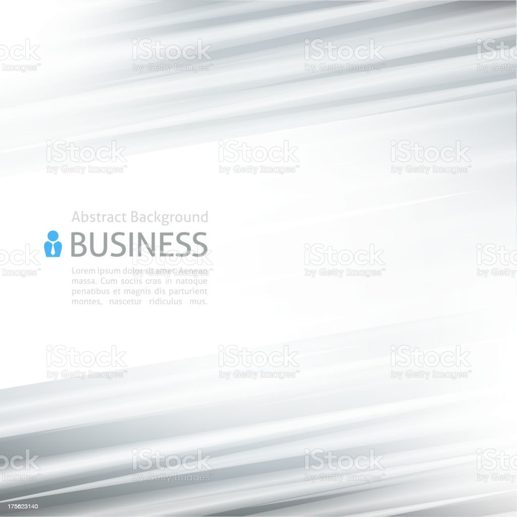 Blank template for businesses to use vector art illustration