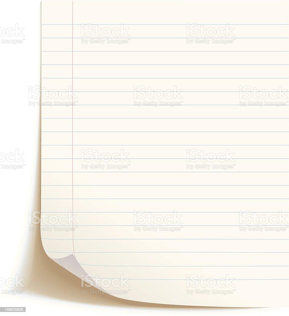 Leere Arbeitsblatt Training Buchen Vektor Illustration 159025836 ...