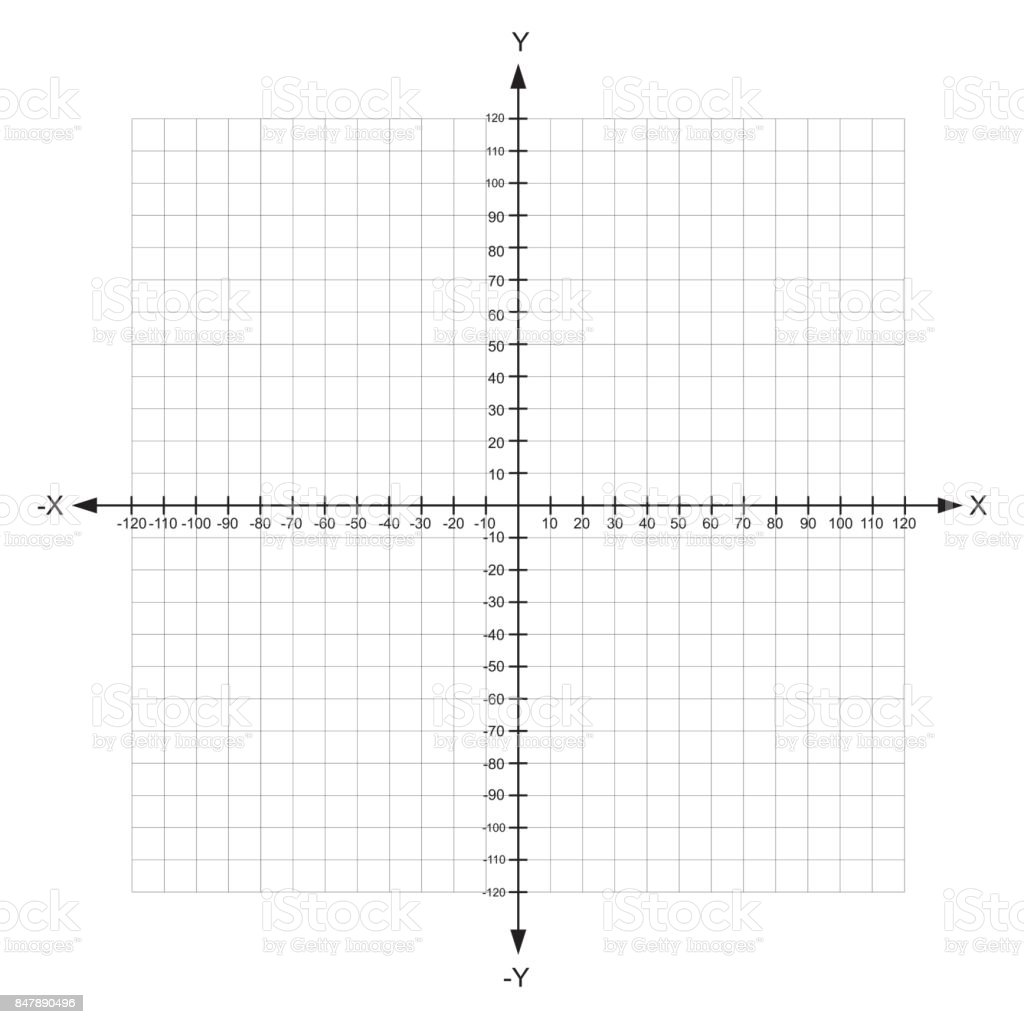 Graph Paper With Axis Printable Graph Paper