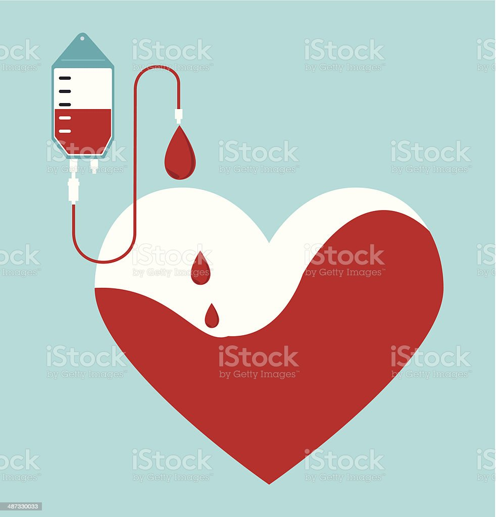 blood design vector art illustration