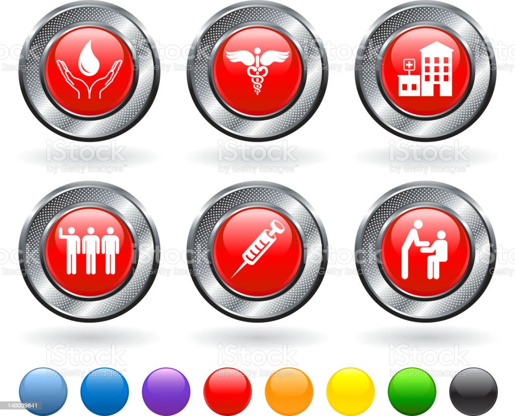 blood donation royalty free vector icon set royalty-free stock vector art