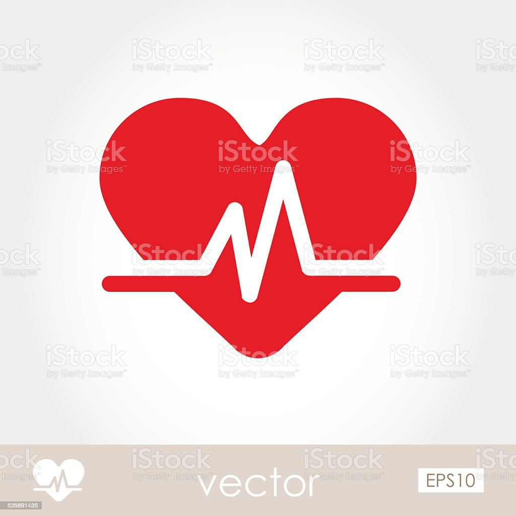 Blood pressure icon vector art illustration