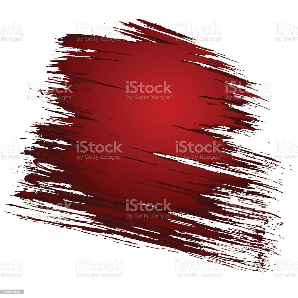 blood stain vector art illustration