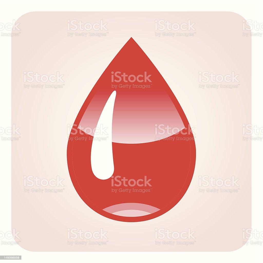 Blood royalty-free stock vector art