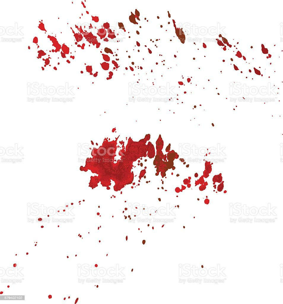 blood wine splatter vector illustration. vector art illustration