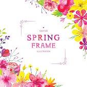 Blooming Spring Corners