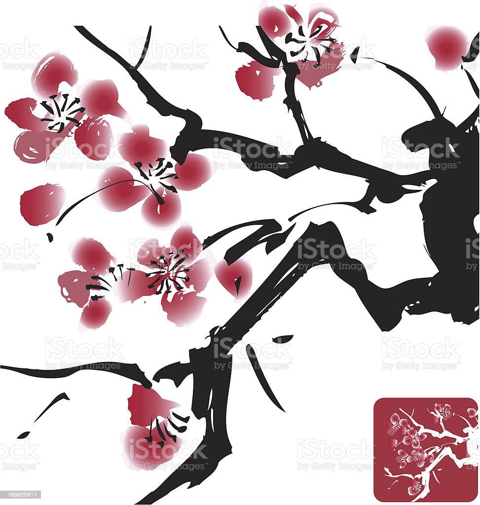 Blossom Design royalty-free stock vector art