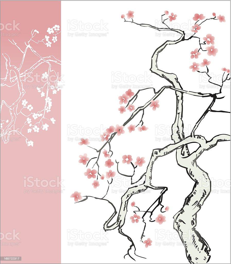 Blossom Tree royalty-free stock vector art