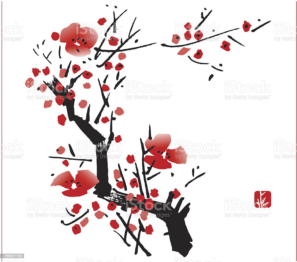 Blossom royalty-free stock vector art