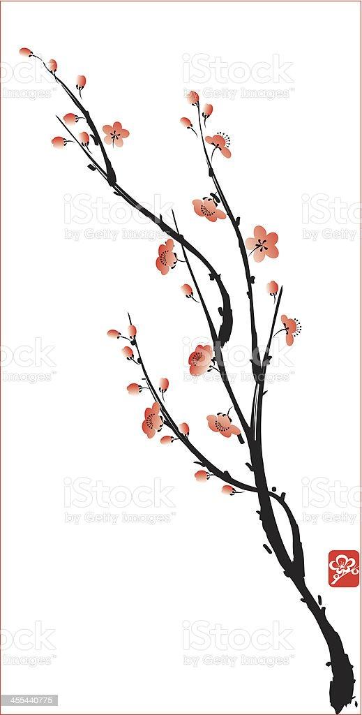 blossom vector art illustration