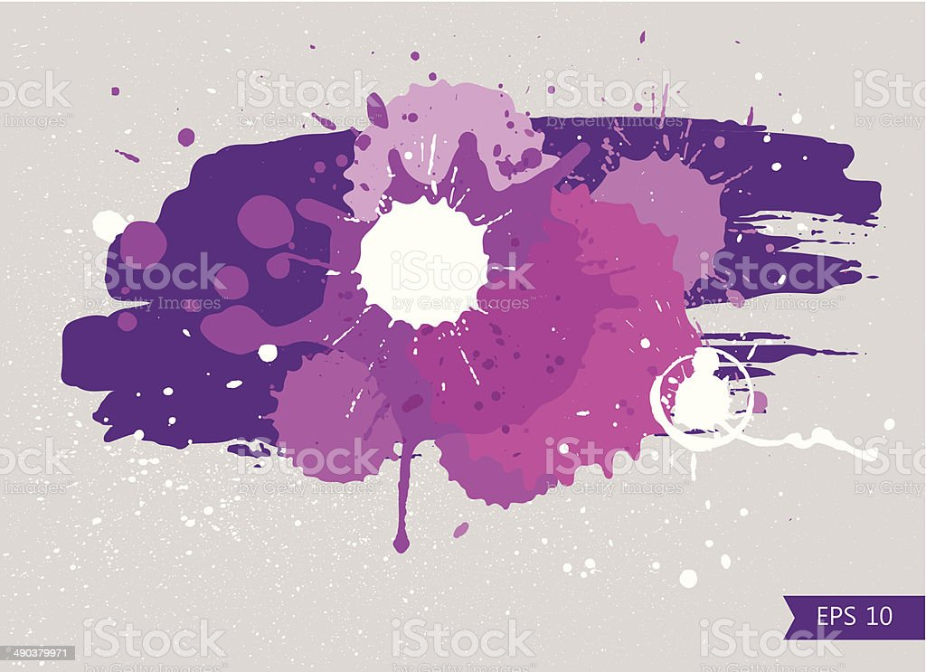 Blotch vector art illustration