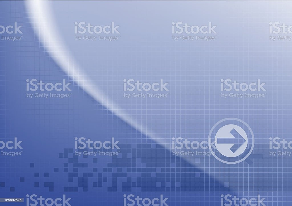 Blu grid royalty-free stock vector art