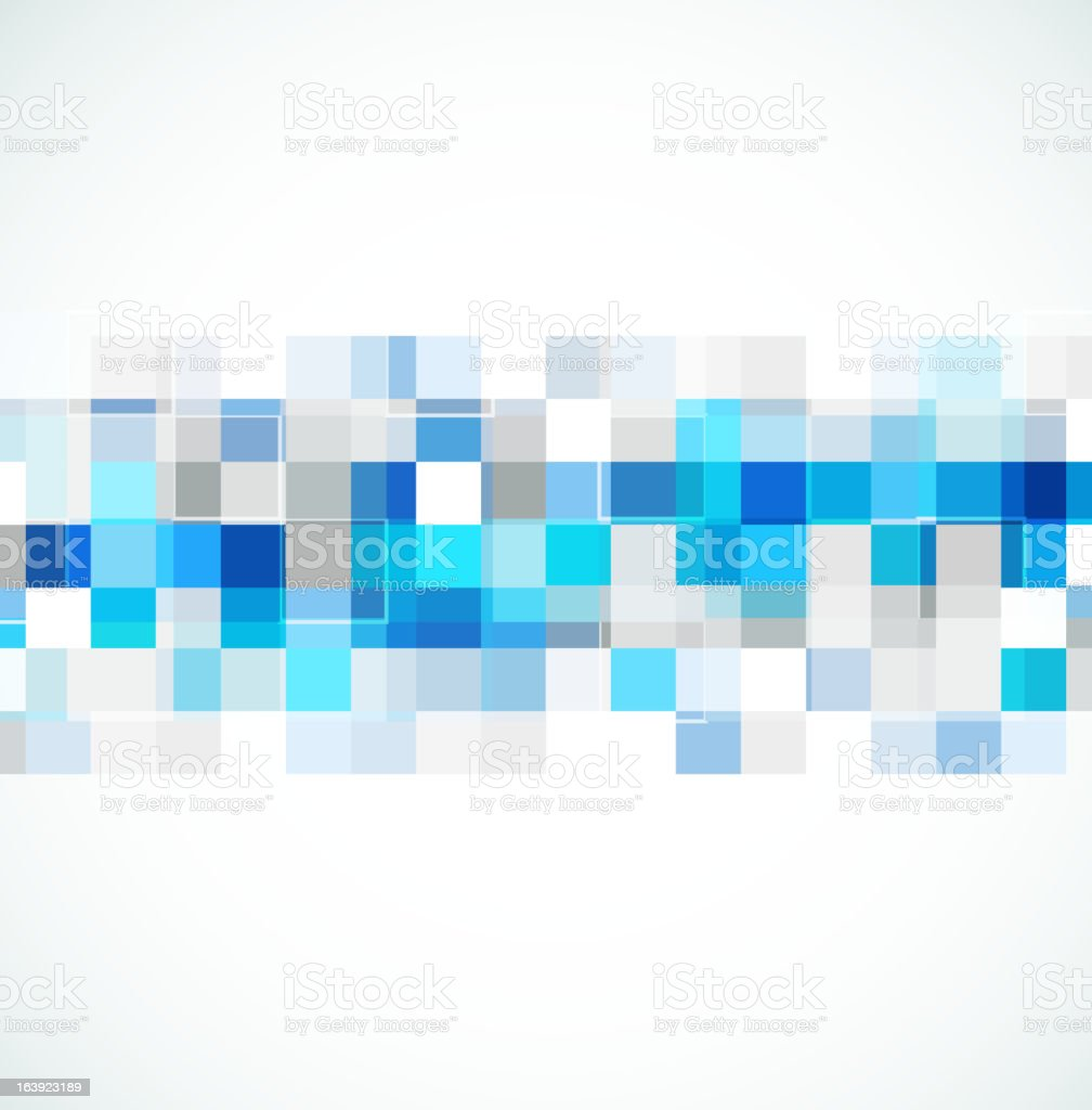blue abstract banner royalty-free stock vector art