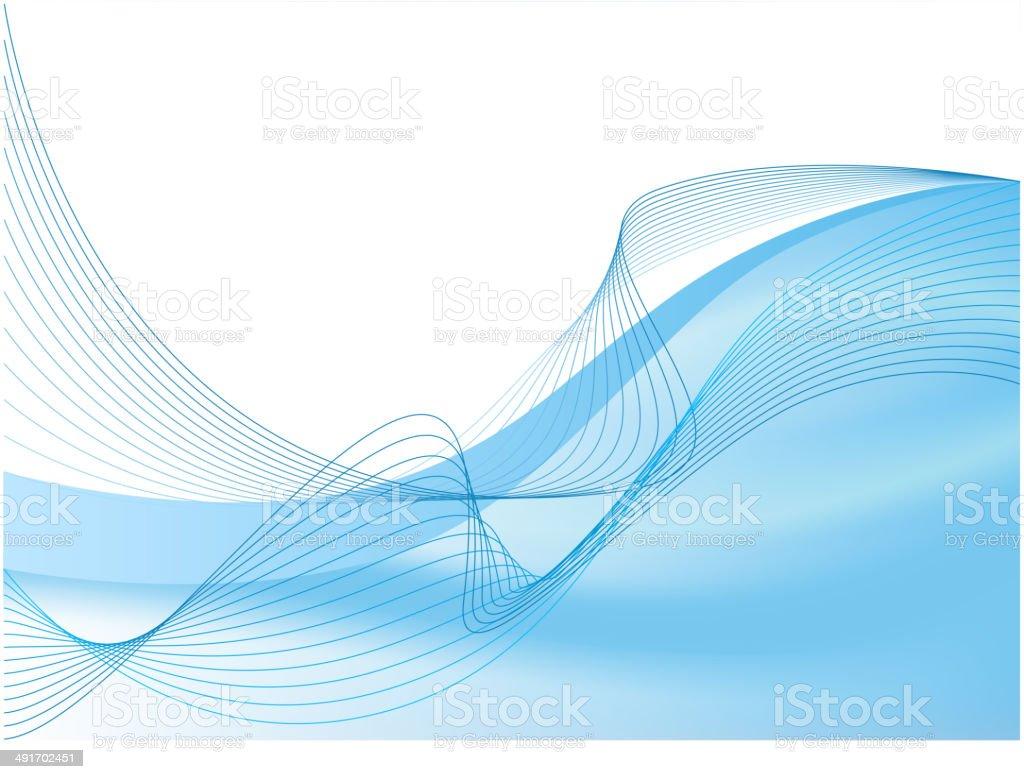 Blue abstract composición illustracion libre de derechos libre de derechos